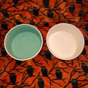 Rae Dunn Other - SET OF 2 Large Dog Bowls NIBBLE AND SLURP